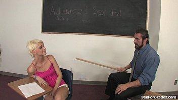 Teen Slut Sucks and Fucks Her Teacher [선생님 teacher]