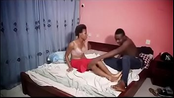 African Teen afraid of my big dick