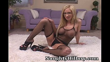 Amazing In Fishnet Stockings