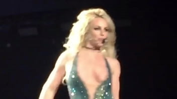 Breast nipple slip - Britney spears - nipslip during las vegas performance - uploaded by celebeclipse.com