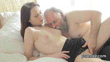 Cuddly college girl gets seduced and screwed by her senior schoolteacher