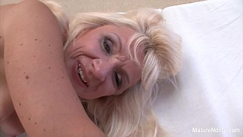 Older blonde gets slammed