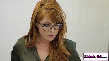 Sex therapist licked by slut patient