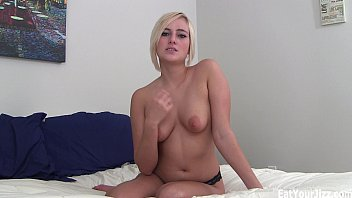 Kate England makes you eat your own cum!