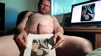 My Cum Tribute to Latina Pussy In Heat