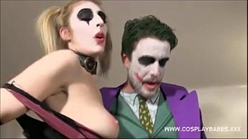 COSPLAY BABES Jokes banging Harley Quinn and Catwoman fuck - BigCams.net