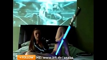 Star Wars Cosplay Camgirl Active in 2018 Masutrbation Solo Light Saber