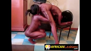 Bubble butt African chicks going lesbian today