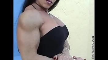 onica In A Black dress