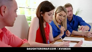 Abbys hairy Daughterswap - horny daughters suck off hot stepdads