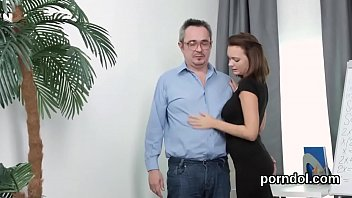 Older smooth pussy - Cuddly schoolgirl was seduced and drilled by her elderly lecturer