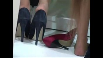 Shoeplay xxx Shoeplay hostess 2
