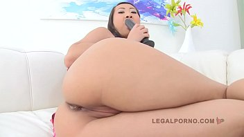 LEGALPORNO FULL SCENE - Sharon Lee 3 on 1 Anal DP Airtight SZ386