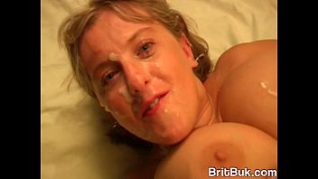 Huge Breasted UK Milfs Melons Marie Devouring Some Guys Cum