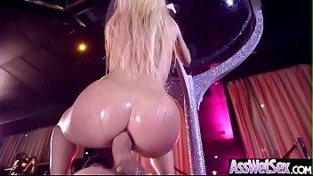 (Jessie Volt) Gorgeous Girl With Huge Ass Enjoy Deep Anal Bang clip-17