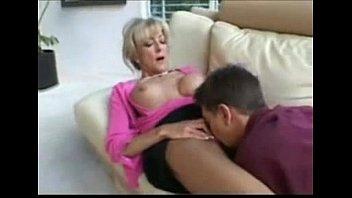 Huge tits blond cougar nailed