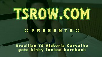 Brazilian shemale dildo video - Shemale victoria carvalho kinky bareback