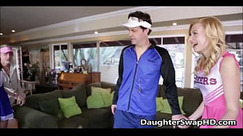 Teen Cheerleaders Dad'_s Agree To Swap Daughters - DaughterSwapHD.com