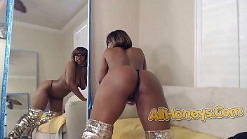 Hot Black Ebony Babe NylaStorm 5