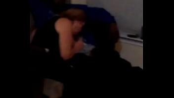 Slutwife Carol with black guy while husband films