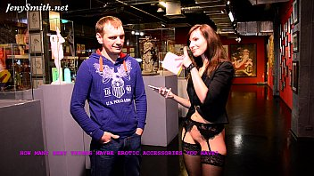 no panties interview at museum of erotic n sex