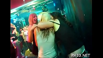 Free lesbian sex shots - Lesbian babes are leaking each other and after gets fuck by waiters