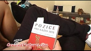 Czech teen couple fuck hard at the casting