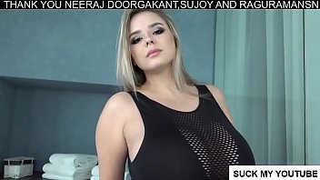 Adult sized juvenel clothes - Vivian blush - busty curvy model