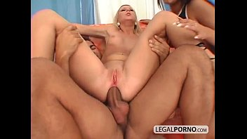 Two horny girls fucked in the ass by a big dick NL-16-05