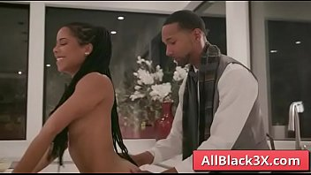 Amazing ebony blows a huge black cock - Kira Noir & Scotty P