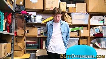 Shoplifting teen jizzy