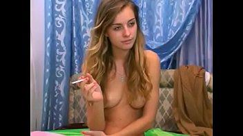 SELIYA aka HONNEYABIGAIL - naked smoking