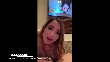 The real Lexi Aaane gives me an amazing Blowjob缩略图