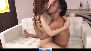 Subtitles - Japanese teen Maomi Nagasawa sucked dick and pumped hard