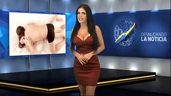 Busty news presenters Big tits naked news