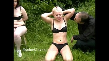 Crocodile tears facial - Outdoor excercised spanking and extreme public corporal punishment of two