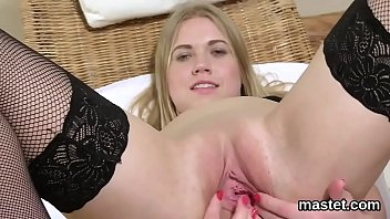 Kinky Czech Sweetie Stretches Her Tight Snatch To The Peculiar