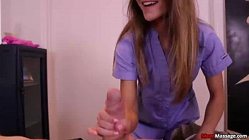 mm-Teen mistress handjob