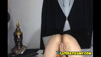 Marcela got two huge nasty boobs and show you on cam - latinasscams.com