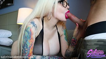 Big breasts milf anal - Sabrina sabrok showing off her huge boobs sloppy deepthroat