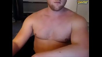 Muscle Straight Guy Fucks Himself With Monster Dildo On Cam 2