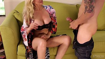 Spanked by women Milf julia ann gets fucked by a younger guy
