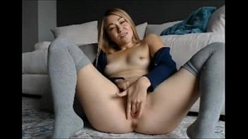 Hot Blondy Have a Good Time  8min on - xPosedCam.com