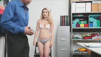 Super cute blonde suspect spreads wide for cock at the office