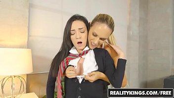 RealityKings - Moms Lick Teens - Spank Me starring Kiley Jay and Tegan James