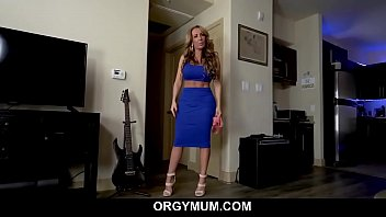 Big Tits MILF Step Mom Fucked By Step Son After Talking To His Dad POV