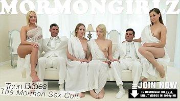 MormonGirlz- Extra Small Teen's Lesbian Foursome