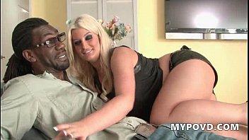 HD Blonde teen seduces future step dad POV