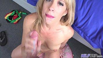 MILF Trip - Slutty blonde MILF gets slammed by fat cock