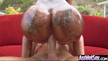 Big Oiled Butt Girl (bella bellz) Get Anal Hardcore Bang vid-08